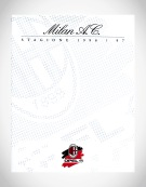 1996 | A.C. Milan Press kit (Agency: Media Consultants - Roma)