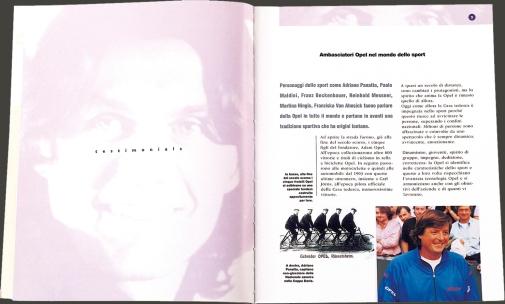 1997 | Opel Italia Sponsorship A.C. Milan (Agency: Media Consultants - Roma)
