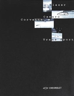 1998 | Chevrolet Press kit (Agency: Media Consultants - Roma)