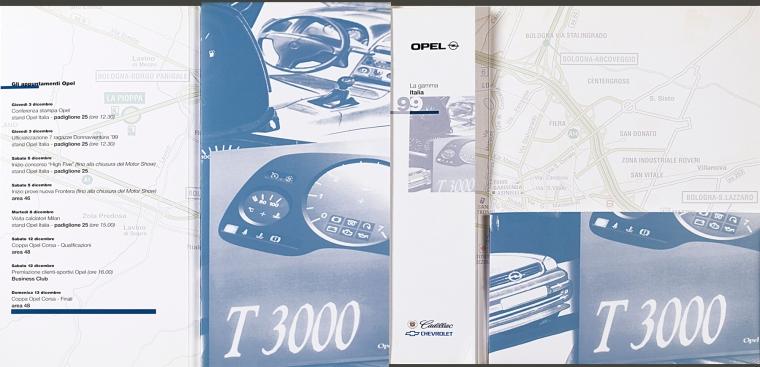 1998 | Opel Press kit (Agency: Media Consultants - Roma)