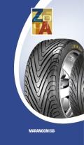 2001 | Marangoni Tyre Press kit (Agency: Media Consultants - Roma)
