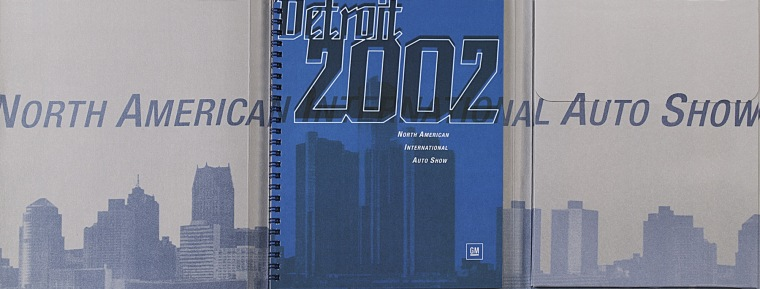 2002 | GM Press kit (Agency: Media Consultants - Roma)
