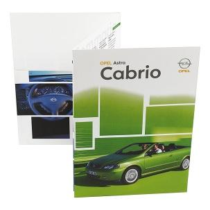 2002 | Opel Astra Press kit (Agency: Media Consultants - Roma)