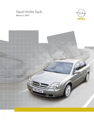 2002 | Opel Annual Report (Agency: Media Consultants - Roma)
