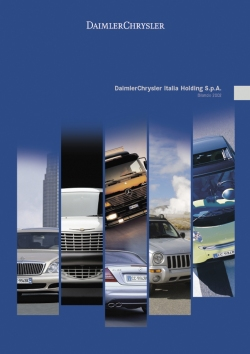 2003 | DaimlerChrysler Italia Annual Report (Agency: Media Consultants - Roma)