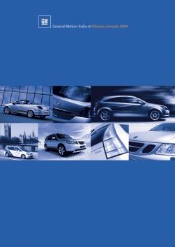 2004 | GM Annual Report (Agency: Media Consultants - Roma)