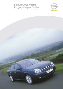 2005 | Opel Vectra Brochure (Agency: Media Consultants - Roma)